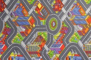 Metrážový koberec Big City 97 - Rozměr na míru s obšitím cm