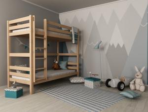 MF Poschodová posteľ Oliver 2 (200X90) Variant úložný box: Bez úložného boxu