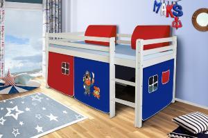 MG Záclonka na vyvýšenú posteľ POLA / SORO Motív: Pirate