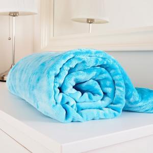 Mikroflanelová deka Exclusive tyrkysová 150x200 cm mikroflanel