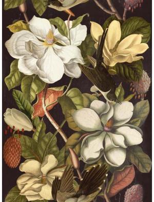 MINDTHEGAP Magnolia, zelená/biela/béžová/čierna/farebná skupina zelená/farebná skupina čierna + biela