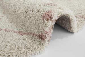 Mint Rugs - Hanse Home koberce Kusový koberec Allure 102749 Cream/Rose - 160x160 (průměr) kruh cm