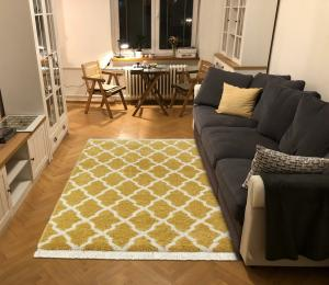 Mint Rugs - Hanse Home koberce Kusový koberec Desiré 103325 Gold Creme - 80x200 cm