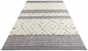 Mint Rugs - Hanse Home koberce Kusový koberec Handira 103906 Black/Cream - 120x170 cm