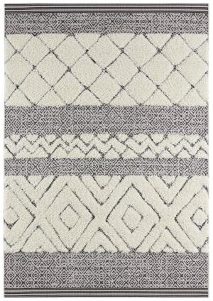 Mint Rugs - Hanse Home koberce Kusový koberec Handira 103906 Black/Cream - 80x150 cm