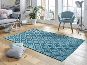 Mint Rugs - Hanse Home koberce Kusový koberec Mint Rugs 103501 Iris blue - 120x170 cm