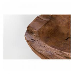 Misa z teakového dreva WOOX LIVING Natu, ⌀ 30 cm