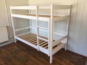 MJ Poschodová posteľ Paula 2 200x90 Biela