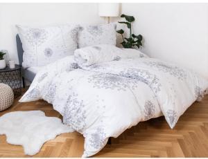 MKLuzkoviny.cz Predĺžené bavlnené obliečky Renforcé – Willow 140x220/70x90cm