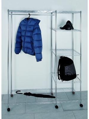 Mobilný vešiak s policou Wiley, 181 cm