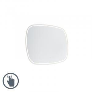 Moderné kúpeľňové zrkadlo 60x80 cm vrátane LED s dotykovým stmievačom IP44 - Miral