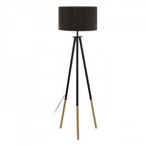 Moderné svietidlo EGLO BIDFORD hnedá / zlatá 49148