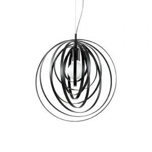 Moderné svietidlo IDEAL LUX Disco SP1 Nero 114262