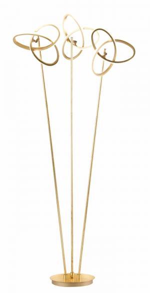Moderné svietidlo WOFI  Eliot zlatá 3410.03.15.8000