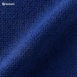 Modro-čierne vlnené kreslo EMKO Naive
