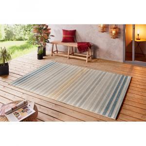 Modro-oranžový vonkajší koberec Bougari Paros, 160 x 230 cm
