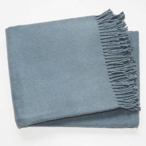 Modrosivá deka s podielom bavlny Euromant Basics, 140x180cm
