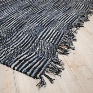 Modrý bavlnený koberec Formia Denim- 160 * 230cm