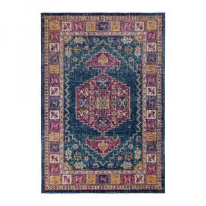 Modrý koberec Flair Rugs Urban Traditional,100 x 150 cm