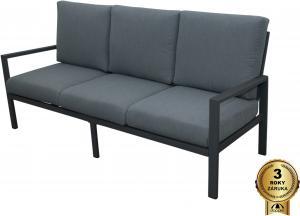 Morissa - záhradné hliníková pohovka 3 sedadlová