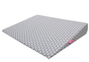 MOTHERHOOD - Vankúš klín Grey Classics 60x45cm, 0-6m