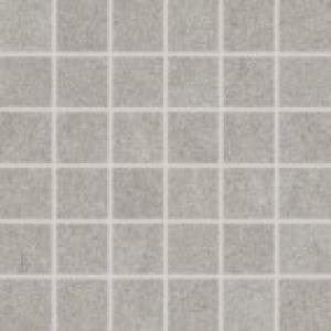 Mozaika 5x5 Rako Rock DDM06634 set svetlošedá