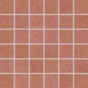 Mozaika 5x5 Rako Rock DDM06645 set červená