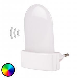 Müller-Licht Zásuvkové LED svietidlo Bunda snímač RGB