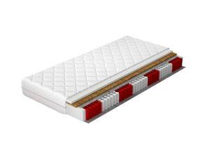 NABBI Ariela 120 taštičkový matrac pružiny / plsť / kokosová doska / PUR pena / látka