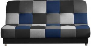 NABBI Cosa rozkladacia pohovka s úložným priestorom čierna / sivá / svetlosivá / modrá