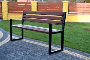 NaK Parková lavička ANA s opierkami 150 cm