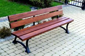 NaK Parková lavička Mesto 180cm