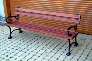NaK Parková lavička Paula 150cm