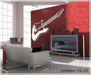 Nálepka Gitara _PX 232