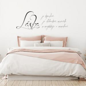 Nálepka - Láska je...