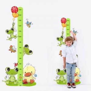 Nálepka - Meter Žabky 150cm