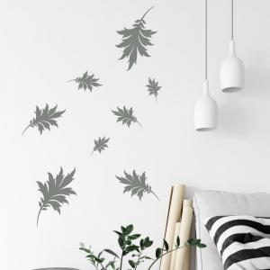 Nálepka na stenu - Padajúce listy