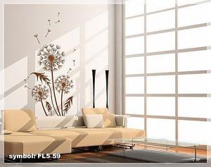 Nálepka na stenu Púpava _fl5-59