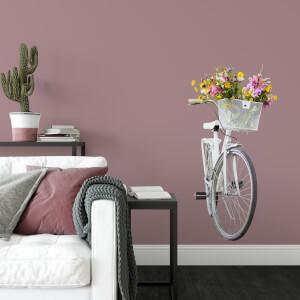Nálepka na stenu - Retro bicykel