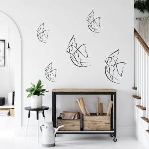 Nálepka na stenu - Ryby