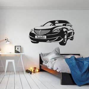 Nálepka na stenu - Super auto