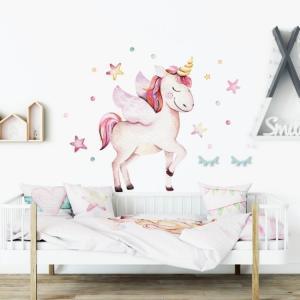 Nálepka na stenu Unicorn DK268