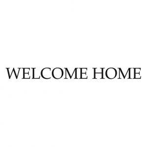 Nálepka na stenu - Welcome home  ( Vitajte Doma ) _ttx18