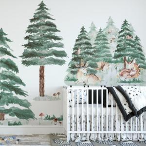 Nálepky na stenu Forest - jelenčeky DK309