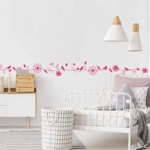 Nálepky na stenu - Jemný kvet
