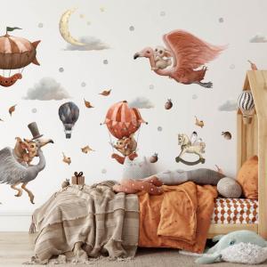 Nálepky na stenu pre deti - Magický svet