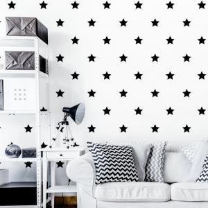 Nálepky na stenu Shapes - hviezdičky 40ks AB044