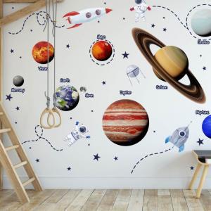 Nálepky na stenu - Vesmír