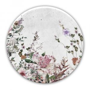 Nástenná dekorácia Styler Glasspik Ringart Pure, ø 70 cm