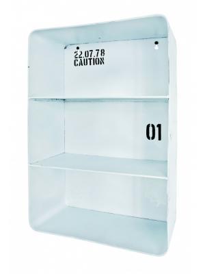 Nástenná polica Carm, 45 cm, biela